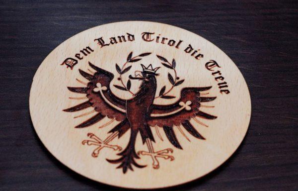 Untersetzer Tiroler Adler