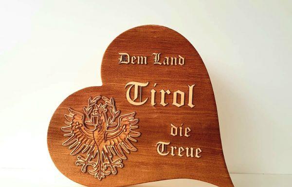Herz Tirol Adler 3D