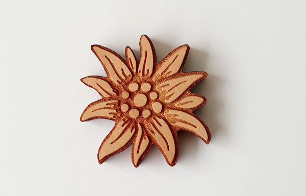 Magnet aus Holz